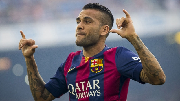 Welcome to the club 400 Dani Alves…..