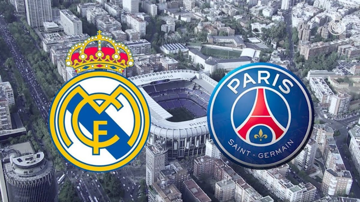 Prediksi Champions League 2019-2020, Group A : Real Madrid vs Paris Saint Germain.