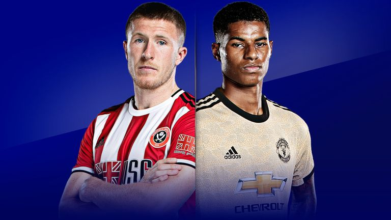 Prediksi English Premier League 2019-2020 : Sheffield United vs Manchester United.