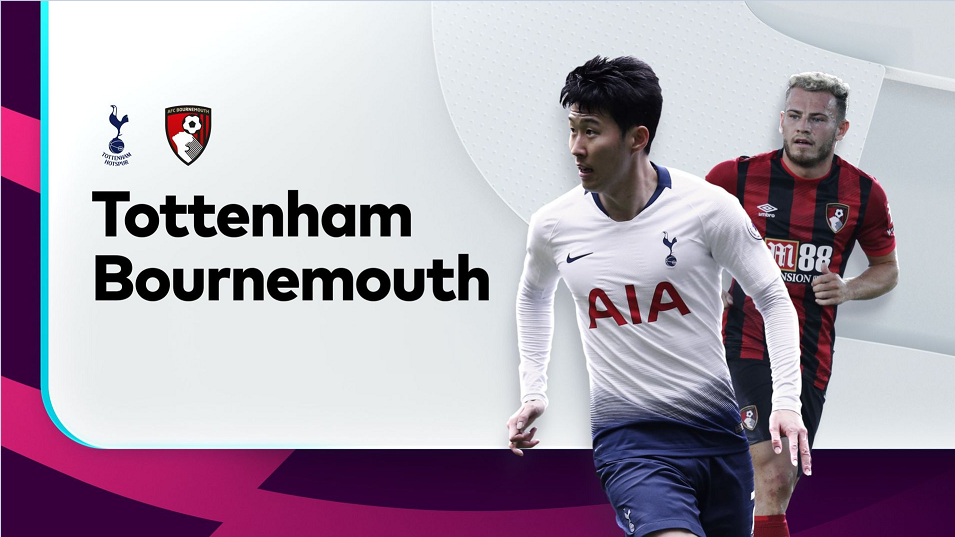 Prediksi English Premier League 2019-2020 : Tottenham Hotspur vs AFC Bournemouth.