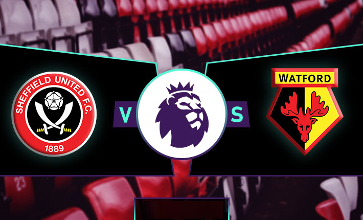 Prediksi English Premier League 2019-2020 : Sheffield United FC vs Watford FC.